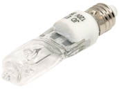 Bulbrite B610035 Q35CL/MC (Clear) 35W 120V T4 Clear Halogen Mini Can Bulb