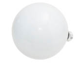Philips Lighting 168534 100G40/W/LL (120V) Philips 100W 120V G40 White Long Life Globe Bulb, E26 Base