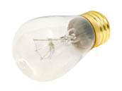 Bulbrite B701111 11S14C (Clear) 11W 130V S14 Clear Sign or Indicator Bulb, E26 Base