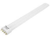 Bulbrite B504525 FT24/830 (4-Pin) 24W 4 Pin 2G11 Soft White Long Single Twin Tube CFL Bulb