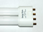 Bulbrite B504526 FT24/835 (4-Pin) 24W 4 Pin 2G11 Neutral White Long Single Twin Tube CFL Bulb