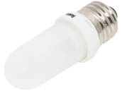 Bulbrite B614152 Q150FR/EDT (Frost) 150W 120V T8 Frosted Halogen Bulb