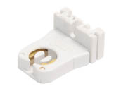 Leviton L23351 Medium Bi-pin Socket (Shunted) Shunted Medium Bipin Fluorescent Socket