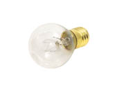 Bulbrite B702110 10S11N (130V) 10W 130V S11 Clear Sign or Indicator Bulb, E17 Base
