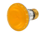 Bulbrite B683508 H50PAR20Y (Yellow) 50W 120V PAR20 Halogen Yellow Bulb