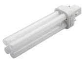 Philips Lighting 383174 PL-C 18W/830/ALTO (2-Pin) Philips 18W 2 Pin G24d2 Soft White Double Twin Tube CFL Bulb