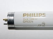 Philips 18W 24in T8 Green Fluorescent Tube