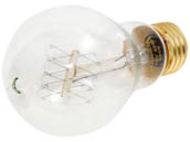Bulbrite B134020 NOS40-VICTOR 40W 120V A19 Nostalgic Decorative Bulb, E26 Base