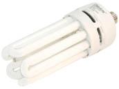 MaxLite M11272 SKQ60EAWW 60W Warm White Quad Twin Tube CFL Bulb, E26 Base