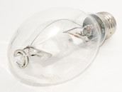 Plusrite 400W Clear ED28 Cool White Metal Halide Bulb