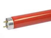 Philips Lighting TLD36W/15 TLD36W/15 (Red) Philips 36W 48in T8 Red Fluorescent Tube