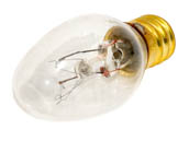 Bulbrite B709110 10C7C (120V) 10W 120V C7 Clear Indicator E12 Base