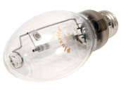 Plusrite FAN2001 LU50/ED17 50W Clear B17 High Pressure Sodium Bulb
