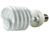 TCP TEC28968H277 28968H277 68W 277V Warm White Spiral CFL Bulb, E39 Base