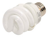 TCP TEC48909 48909-27 (2700K) 9W Warm White Spiral CFL Bulb, E26 Base