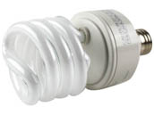TCP TEC28927277-41K 2892727741K 27W 277V Cool White Spiral CFL Bulb, E26 Base