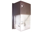 Value Brand QWP14H70R120L Wallpack Fixture (Mini) with 70 Watt HPS Lamp
