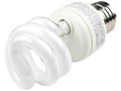 TCP TEC801009-41 80100941K 9W Cool White CFL Bulb, E26 Base