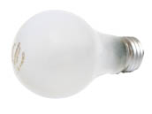 Philips Lighting 409847 43A19/EV (White) Philips 43W 120V A19 Soft White Halogen Bulb