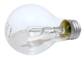 Philips Lighting 410498 43A19/EV/CL (Clear) Philips 43W 120V A19 Clear Halogen Bulb