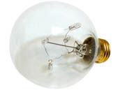 Bulbrite 716330 ST-G25 5W 130V Clear Starlite Decorative G-25 Globe Bulb, E26 Base