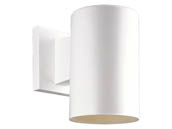 Progress Lighting P5712-30 Non-Metallic Cylinder Outdoor Fixture, White