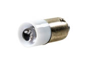 Eiko LED-24-BA9S-W 24-28VAC/DC T3-1/4 BA9S WHITE 24 to 28V T3 LED Bulb, BA9s Base