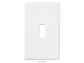 Lutron Electronics FG-1-WH Lutron Fassada Single-Gang Wallplate, White