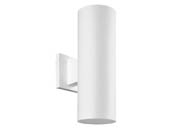 Progress Lighting P5713-30 Non-Metallic Cylinder Outdoor Fixture, White