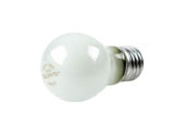Bulbrite 104040 40A15F 40W 130V A15 Frosted Ceiling Fan or Appliance Bulb, E26 Base