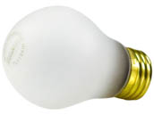 Bulbrite 108040 40A15/TF (Safety) 40W 130V A15 Safety Coated Appliance Bulb, E26 Base
