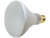 Bulbrite 280465 65BR30/TF 65W 130V R30 Safety Coated Reflector Flood E26 Base