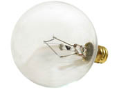 Bulbrite 311040 40G16CL3 40W 130V G16 Clear Globe Bulb, E12 Base
