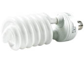 Bulbrite 509555 CF55C/WW 55W 120V Warm White Spiral CFL Bulb, E26 Base
