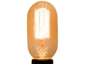 Bulbrite 134015 NOS40T14/SQ 40W 120V T14 Antique Decorative Bulb, E26 Base