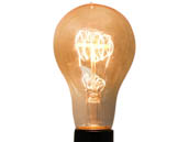 Bulbrite 134030 NOS40-VICTOR/A21 40W 120V A21 Nostalgic Decorative Bulb, E26 Base