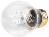 Halco Lighting HAL6013 A15CL15 (130V) Halco 15W 130V Clear Ceiling Fan or Appliance Bulb, E26 Base
