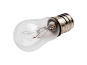 CEC Industries C6S6-75V 6S6 (75V) CEC 6 Watt, 75 Volt Clear S6 Indicator Lamp