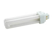 TCP 32418Q41K 18W 4 Pin G24q2 Cool White Quad Double Twin Tube CFL Bulb