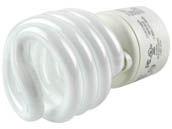 TCP TEC33123SP-30K 33123SP30K 23W Soft White Spiral CFL Bulb, GU24 Base