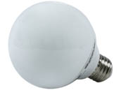 Longstar FE-G25A-9W Long Star 9W G25 Warm White CFL Bulb, E26 Base
