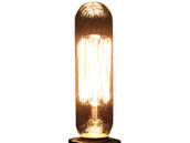 Bulbrite B132506 NOS25T6/SQ/E12 25W 120V T6 Nostalgic Decorative Bulb, E12 Base