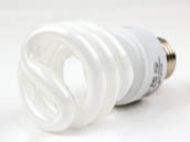 Globe 48504 13W/2700K Spiral 60W Incandescent Equivalent, ENERGY STAR Qualified, 12000-hour, 13 Watt, 120 Volt Warm White CFL Bulb.