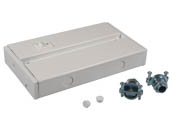 American Lighting ALC-BOX-WH Hardwire Junction Box For LED Complete Undercabinet Fixture - White