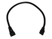 "American Lighting ALC-EX12-BK 12"" Linking Cable for LED Complete 2 and LED 3-Complete Undercabinet Fixtures - Black"