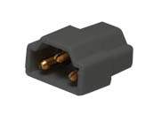 American Lighting ALC-CON-BK Inline Connector for LED 3-Complete Undercabinet Fixture