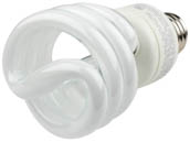 TCP TEC801019-35 80101935K 19W Neutral White Spiral CFL Bulb, E26 Base