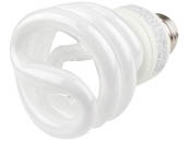 TCP TEC801019-41 80101941K 19W Cool White spiral CFL Bulb, E26 Base