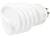 TCP TEC801023-50 80102350K 23W Bright White Spiral CFL Bulb, E26 Base