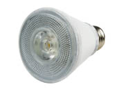 TCP LED8P20D30KNFL Dimmable 7W 3000K 25° PAR20 LED Bulb, Wet Rated
